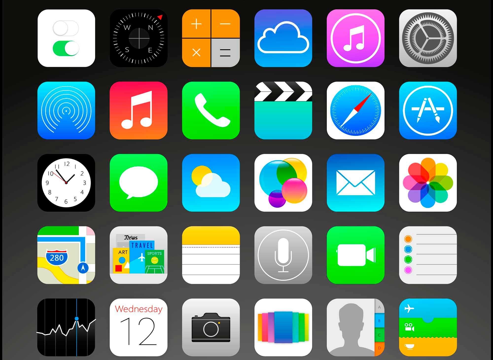 Iconos apps