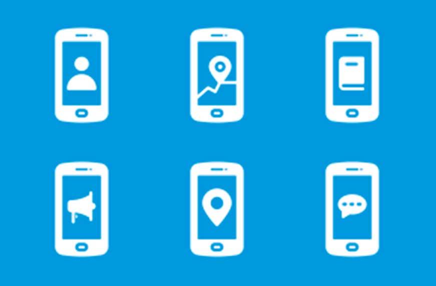 Iconos aplicaciones moviles